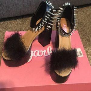 Dolls kill black heel